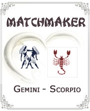Gemini Man Scorpio Woman