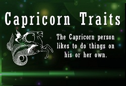 Capricorn Personality Traits