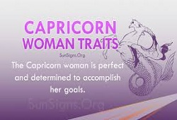 Capricorn Traits Female