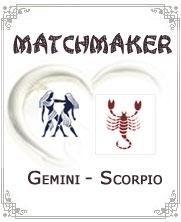 Gemini Man Scorpio Woman